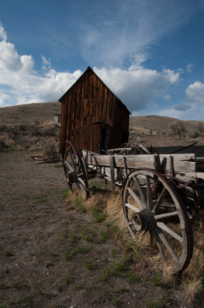Bannack State Park 2013-4345 by Robert Duncan
