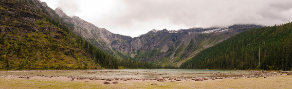 Avalanche Lake by Robert Duncan