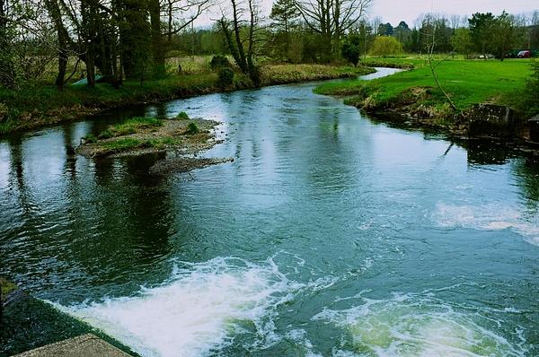 Mill river by DavidNunnerley