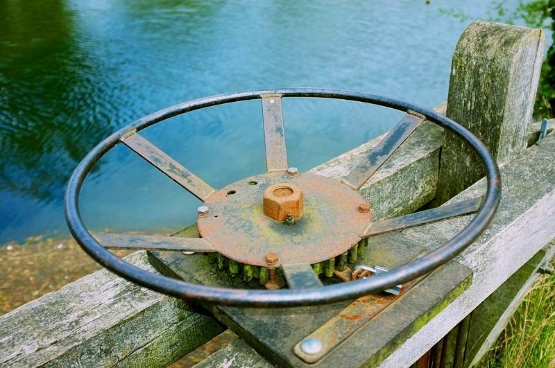 The lock wheel
