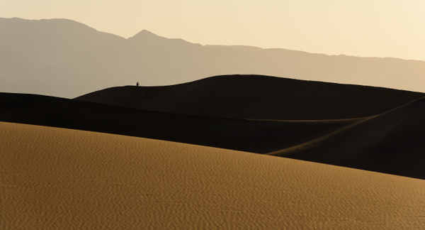 photographer enjoying early morning light