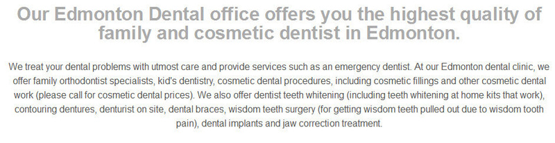 Dentist  In Edmonton