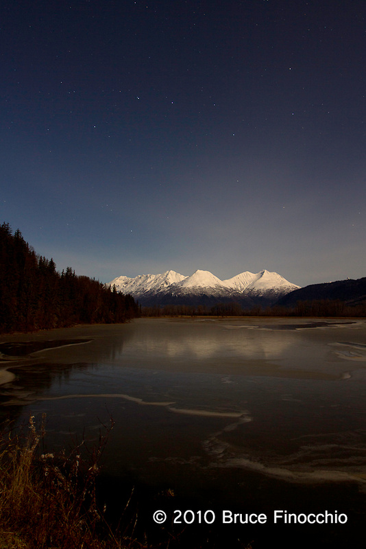 Big Dipper Over The Chilkoot Range From Mosquito Lake