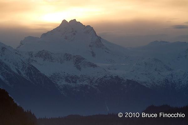 Mountain Across The Lynn Canel by BruceFinocchio
