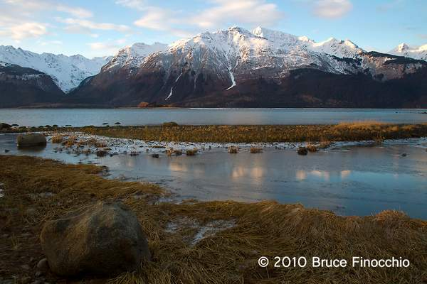 Chilkat River Mouth At Sunrise