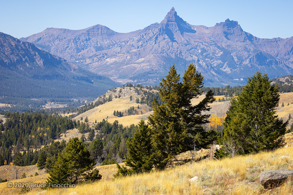 Pilot And Index Peaks From The Beartooth Highway Before...