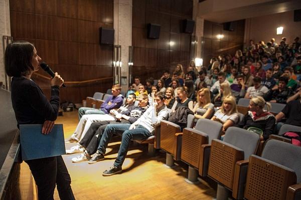 FTE 2013 - predavanje Petre Gajžler, Mestni kino...