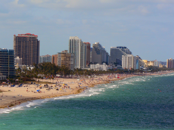 Fort Lauderdale Beach by Gary Acaley
