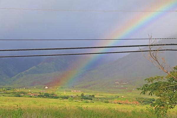 Hawaii rainbow by Gary Acaley