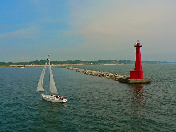 Lake Michigan (2) by Gary Acaley