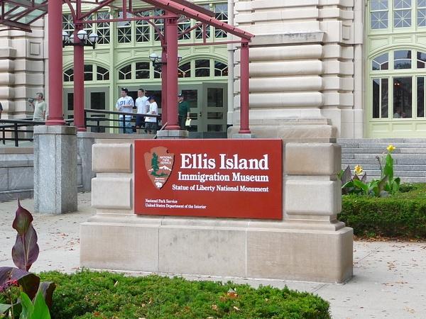Ellis Island NY by Gary Acaley