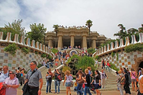 Barcelona park (2) by Gary Acaley