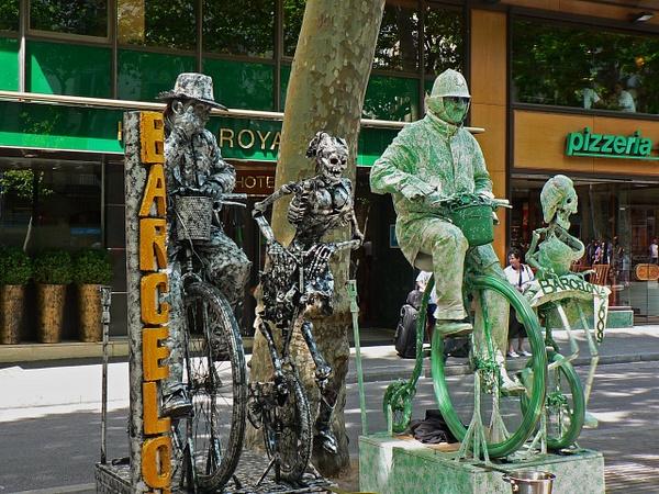 Barcelona Rambla (4) by Gary Acaley