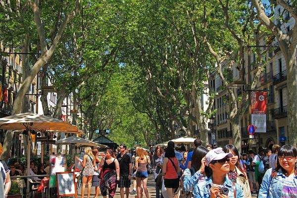 Barcelona Rambla by Gary Acaley