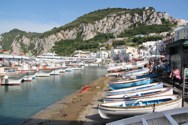 Capri Italy by Gary Acaley