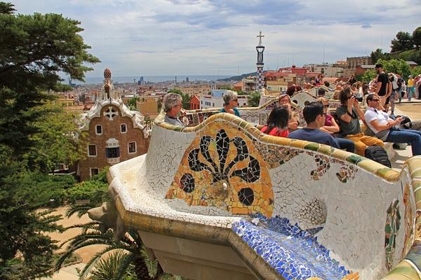 Barcelona Gaudi (4) by Gary Acaley