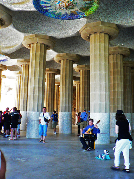 Barcelona Gaudi (12) by Gary Acaley