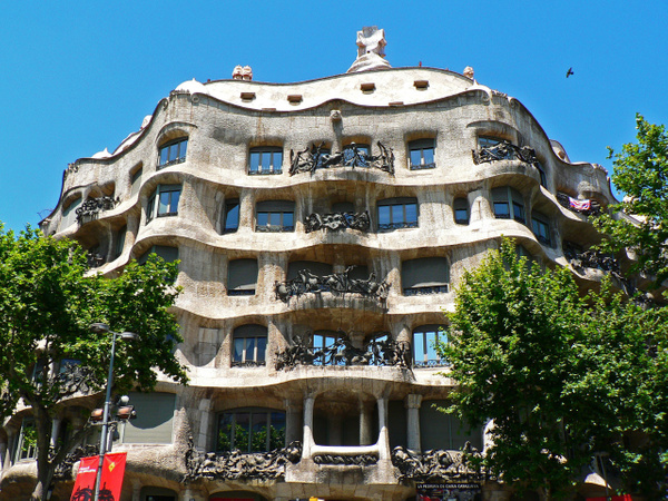 Barcelona Gaudi (25) by Gary Acaley