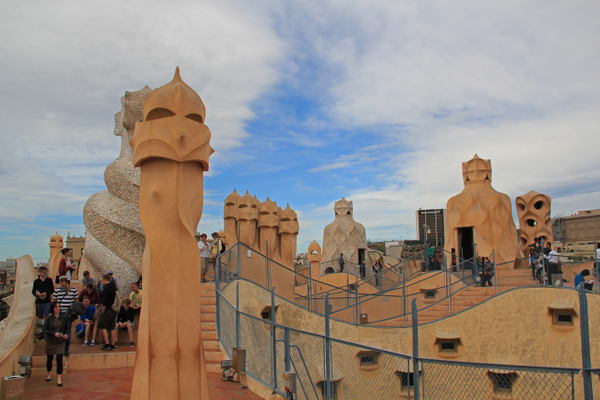 Barcelona Gaudi by Gary Acaley