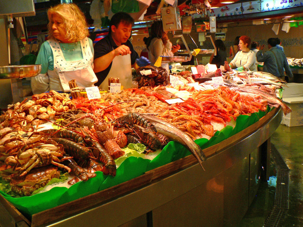 Barcelona Market (3) by Gary Acaley