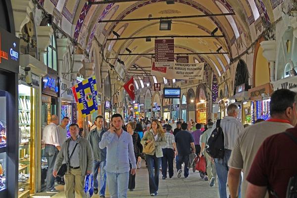 Istanbul Bazaar (1) by Gary Acaley