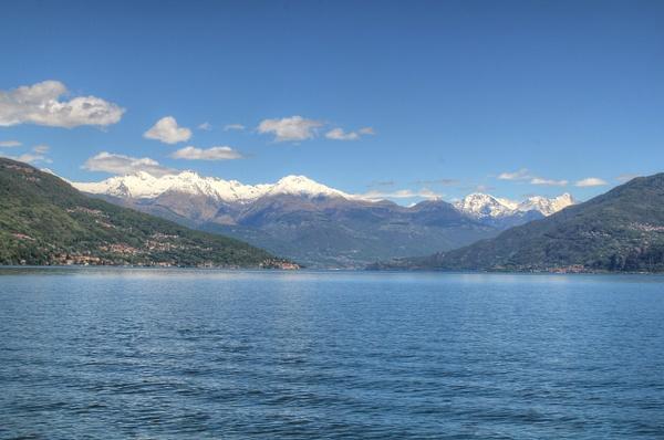 Lake Como Alps 2 by Gary Acaley