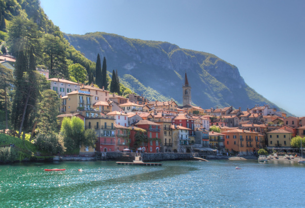 Lake Como Varenna 2 by Gary Acaley
