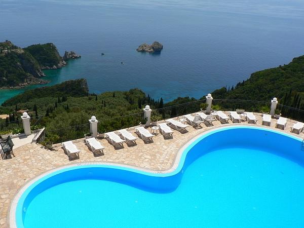 Corfu Greece by Gary Acaley