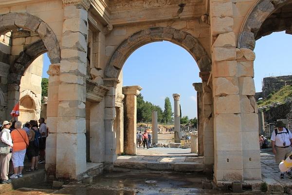Ephesus Turkey by Gary Acaley