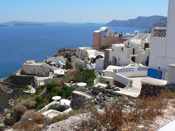 Santorini Greece (3) by Gary Acaley