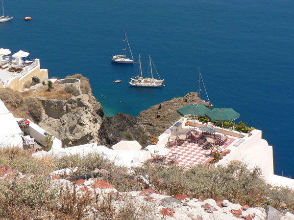 Santorini Greece (4) by Gary Acaley
