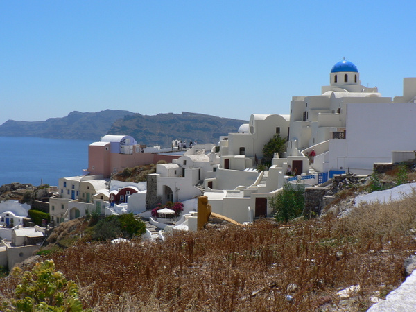 Santorini Greece (5) by Gary Acaley