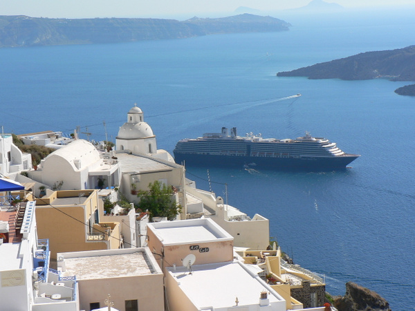 Santorini Greece (11) by Gary Acaley
