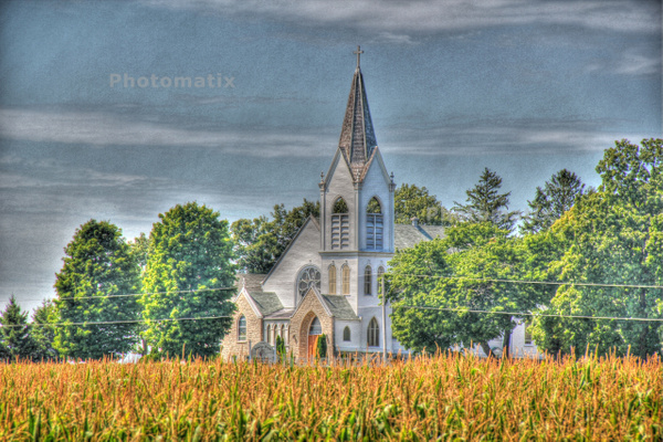 church by Gary Acaley