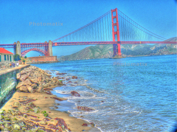 Golden Gate by Gary Acaley