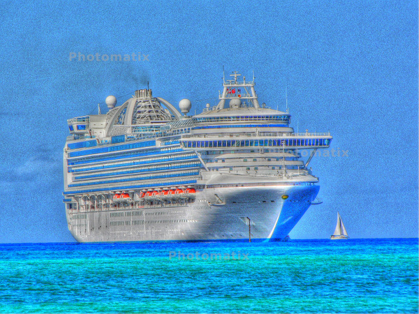 cruise ship by Gary Acaley