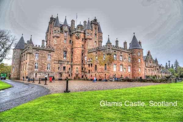 Glamis Castle   Scotland by Gary Acaley