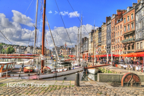 Honfleur   France by Gary Acaley