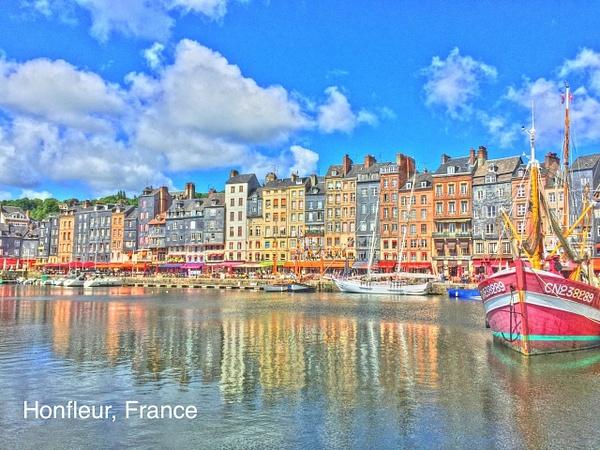 Honfleur   France by Gary Acaley