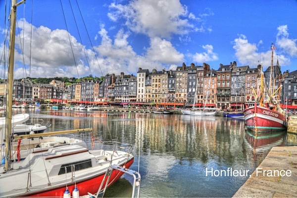 IHonfleur   France by Gary Acaley