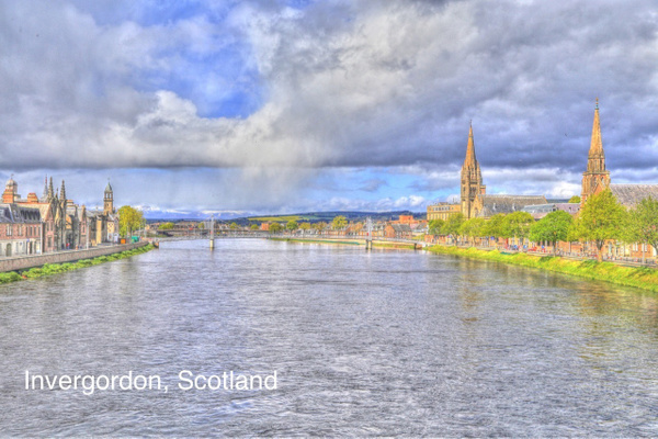 Inverness   Scotland by Gary Acaley