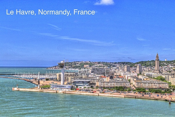 Le Harve Normandy France by Gary Acaley