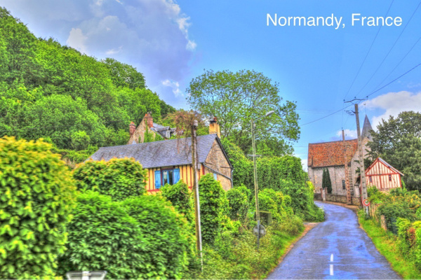 Normandy   France by Gary Acaley