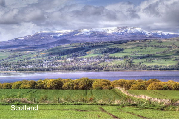 Scottish Highlands by Gary Acaley