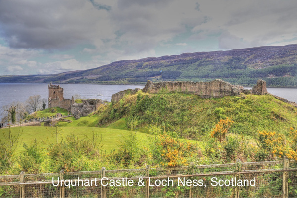 Urquhart Castle  Loch Ness by Gary Acaley