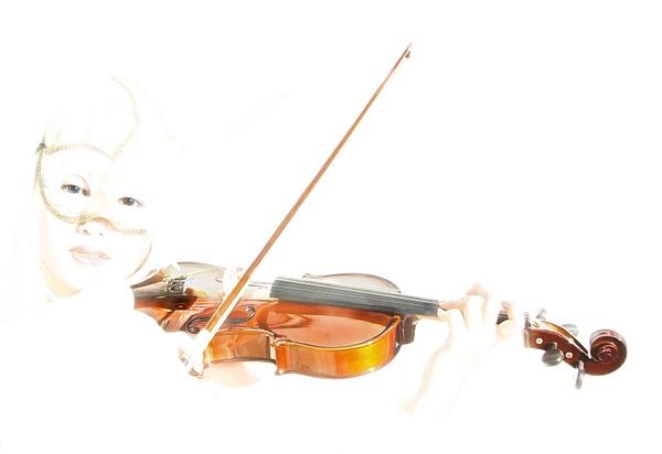 Violin Player by Greg Edwards