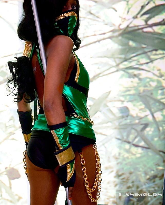 Green Warrior twisting back look 230