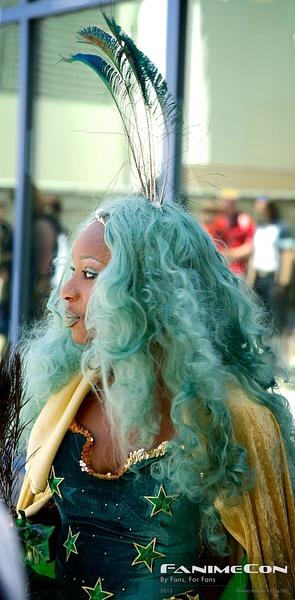 Light blue hair large 198 by Greg Edwards