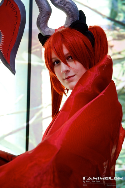 Red hair, red cloak 242 by Greg Edwards