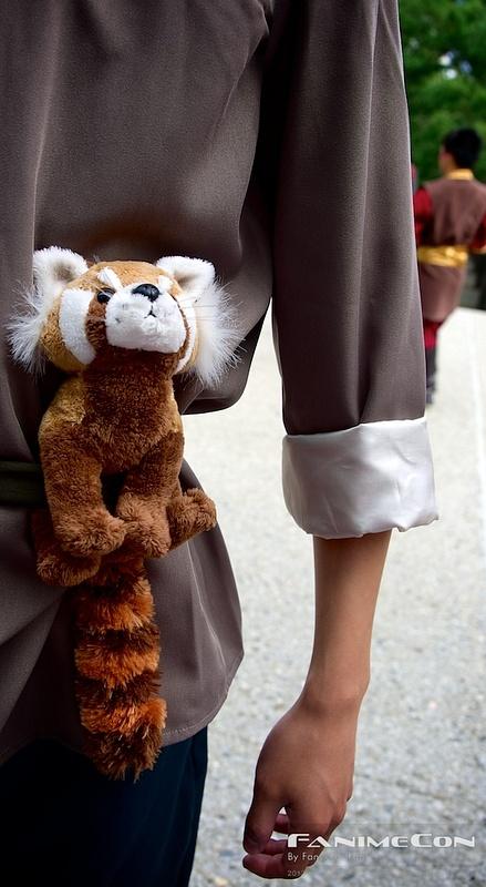 Belted Foxy Friend